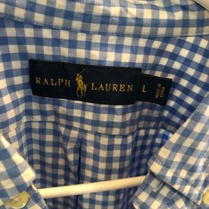 Polo by Ralph Lauren Shirts - Polo Large checkered Button Down Size L